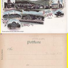 Vatra Dornei (Suceava) (Litho) - Litografie Bucovina - Carte Postala Bucovina pana la 1904, Necirculata, Printata