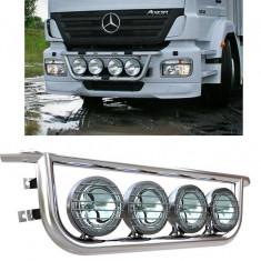 Bullbar/Bara Proiectoare Inox Grila Partea Inferioara Mercedes Axor - Tuning camioane
