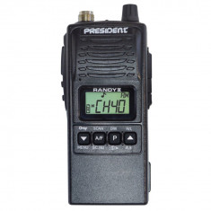 Resigilat : Statie radio CB portabila President RANDY II Mobile cod TXSE311