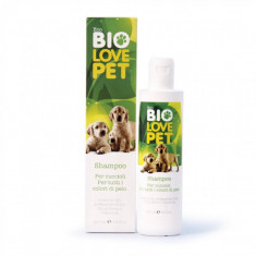 Sampon bio pentru pui, toate tipurile de blana, 250 ml, Bema Bio Love Pet - Caini