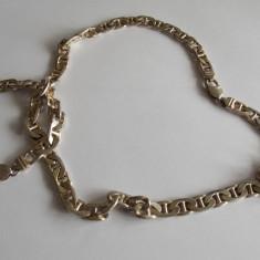 Set argint lant si bratara masive -1100 - Set bijuterii argint