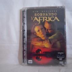 Vand dvd Sognando l Africa , tradus in italiana ,deosebit,original,sigilat  !
