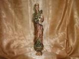 Sculptura Gotica lemn, antique, colectie/cadou