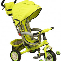 Tricicleta Multifunctionala Sunny Steps Green - Tricicleta copii Baby Mix