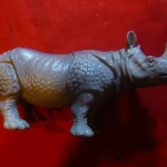Figurina Rinocer marca Schiech Germania , L= 12,5 cm , plastic