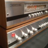 Linie Audio Stereo KORTING :Tuner 821 + Amplificator 821 -Vintage/RFG/Impecabila - Combina audio, Separate, 41-80 W