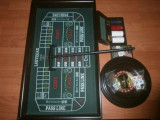 Casino set joc ruleta, blackjack, poker, barbut