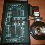 Casino set joc ruleta, blackjack, poker, barbut - Jocuri Board games