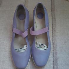 Pantofi dama din piele SAX Italia marimea 38 - Pret Mic - Pantof dama Made in Italia, Culoare: Din imagine, Piele naturala