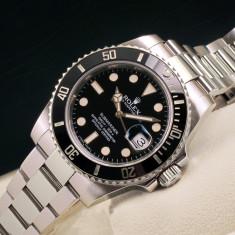 Rolex Submariner Date Black Dial Automatic (Cadran negru) - Ceas barbatesc Rolex, Mecanic-Automatic