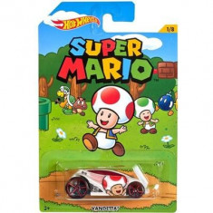 Jucarie Hot Wheels Super Mario Vandetta Mattel