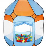 Cort De Joaca Cu 250 Bile Bath Of Balls Blue - Casuta copii Knorrtoys