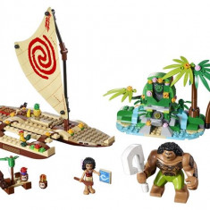 Lego® Disney Princess Vaiana Si Calatoria Ei Pe Ocean - L41150