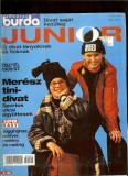 Revista moda BURDA JUNIOR (limba maghiara), toamna-iarna 1996-1997