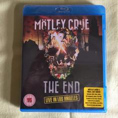 Blu-ray MOTLEY CRUE - The End Live In Los Angeles - NOU Sigilat - Muzica Rock universal records
