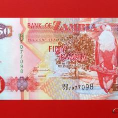 ZAMBIA  -  50 Kwacha 2008  -  UNC