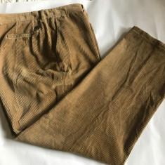 Pantaloni barbati HUGO BOSS reiati, marime mare, Din imagine, Lungi, Reiat