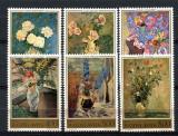 JUGOSLAVIA 1974, Pictura, Flora, serie neuzata, MNH, Nestampilat