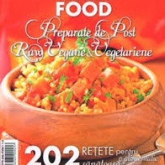 Preparate de post raw wegane & vegetariene - Carte Retete de post