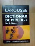 w3 Dictionar De Biologie / Denis Buican