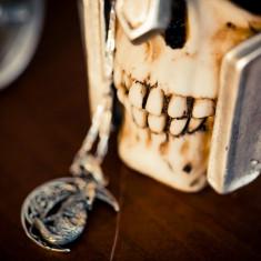 Cutie bijuterii Craniu de gladiator