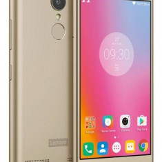 Telefon Mobil Lenovo K6, 16GB Flash, Dual SIM, 4G, Gold
