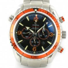 Omega Seamaster Planet Ocean Chrono Orange - Ceas barbatesc Omega, Quartz