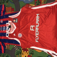 Bayern Munchen-tricou și maiou baschet - Tricou echipa fotbal, Marime: L, Culoare: Rosu