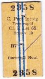 Bilet tren rapid CFR Brasov Bucuresti pret intreg 2 AUG 1998