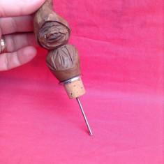 Vechi dop din lemn sculptat - Colectie !!!