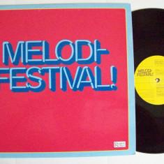 Disc vinil MELODI FESTIVAL! (Eurovision Suedia 1959 - 1982)(Reader's Digest)