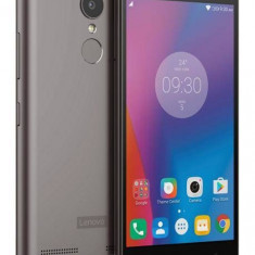 Telefon Mobil Lenovo K6, 16GB Flash, Dual SIM, 4G, Grey