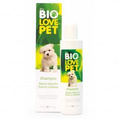 Sampon bio pentru caini cu blana alba, 250 ml, Bema Bio Love Pet