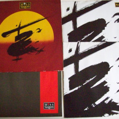 Disc vinil MISS SAIGON - Musical (2 discuri + pliant) (Geffen Records -1990) - Muzica soundtrack Altele