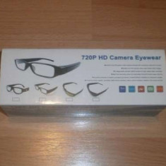 Ochelari spion cu camera HD - Gadget supraveghere