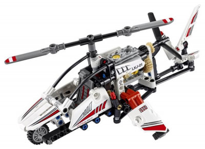 Lego? Technic Elicopter Ultrausor - L42057 foto