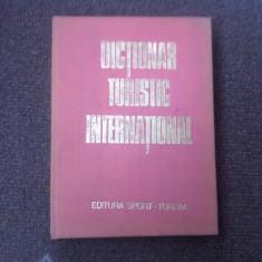 Dictionar Altele turistic international Silviu Negut ed sport turism hobby 1980