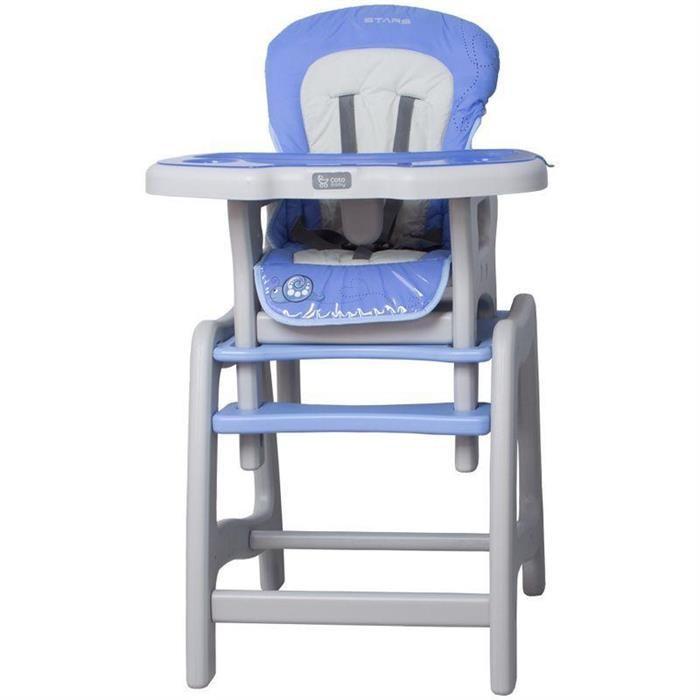 Scaun Masa Multifunctional Stars - Coto Baby - Albastru foto mare