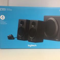 Boxe 2.1 Logitech Z333 80W - Boxe PC Logitech, 41-80W, In Subwoofer