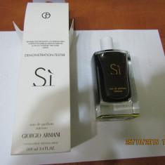 TESTER ARMANI SI INTENSE 100 ML--SUPER PRET, SUPER CALITATE! - Parfum femeie Armani, Apa de parfum