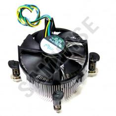 Cooler procesor LGA 775 Intel, Miez Cupru, Mufa 4 fire, PWM *** GARANTIE *** - Cooler PC Intel, Pentru procesoare