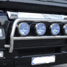 Bullbar/Bara Proiectoare Inox Grila Partea Inferioara Man TGA 2000-2007 XXL+XL - Tuning camioane