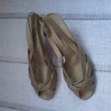 Sandale dama piele Mario Bologna Italia marimea 38 - Reducere