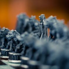 Joc șah Vampiri împotriva Vârcolaci - Set sah