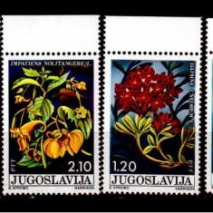 JUGOSLAVIA 1975, Flora, serie neuzata, MNH, Nestampilat