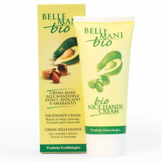 Crema bio pentru maini, 100 ml, Bema Belle Mani