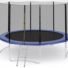 Trambulina cu plasa de protectie si scara ACTION® High Quality 366 cm - Trambulina copii