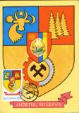 Maxima Romania - 1982 - Stema Judetului Suceava, Romania de la 1950, Arta
