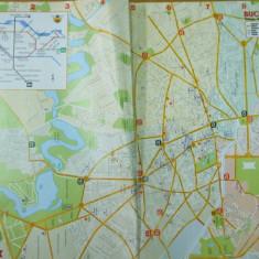 Bucuresti harta metrou plan oras titlu in engleza denumiri in romana subway map