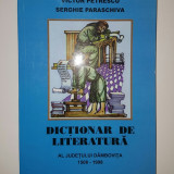 Dictionar de literatura